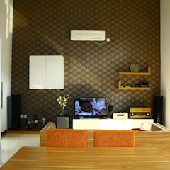 Living Dining Room Ruang Keluarga Modern Oleh Exxo interior Modern