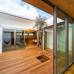 haus-flow 北欧風 庭 の 一級建築士事務所haus 北欧 木 木目調
