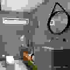 Lavabo Banheiros rústicos por Renata Monteiro Arquitetura e Interiores Rústico