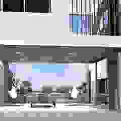 Casa B+E 27 de Arquitectura Bur Zurita Moderno