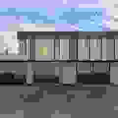 Maisons modernes par Murat Aksel Architecture Moderne Bois Effet bois