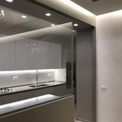 ULA architects Built-in kitchens Beige