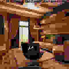 EL-Rehab City Villa New Cairo من DeZign center office by Dalia Gaber تبسيطي ألواح خشب مضغوط