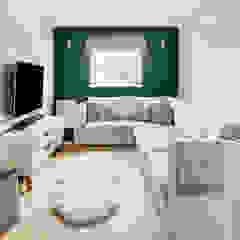 Scandinavian Style Kitchen Dining and Lounge Scandinavian style living room by Katie Malik Interiors Scandinavian