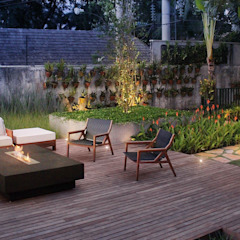 Country style garden by Amaury Neto Paisagismo Country