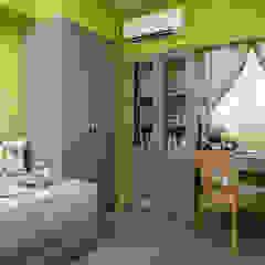 por 采荷設計(Color-Lotus Design) Campestre Madeira Efeito de madeira