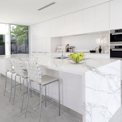 POLİMER DECOR Mermer Masa Mutfak Ve Banyo Tezgahları Uygulama Merkezi KitchenCabinets & shelves Wood White