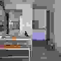 Scandinavian style corridor, hallway& stairs by 極簡室內設計 Simple Design Studio Scandinavian