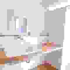 توسط 森本敦志建築設計事務所 اسکاندیناویایی چوب Wood effect