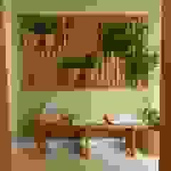 Apartamento Perdizes Paredes e pisos clássicos por TS Projetos Clássico Madeira maciça Multi colorido