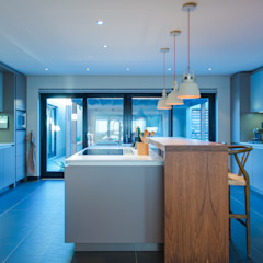 House Brand by JBA Architects Modern Wood Wood effect