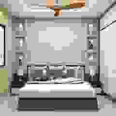 Kinthali Manoj ARK Architects & Interior Designers Modern style bedroom