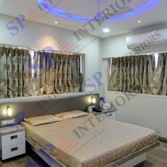 SP INTERIORS Modern style bedroom
