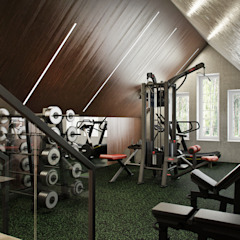 Classic style gym by GraniStudio Classic