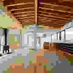 国分の棲遅 和風デザインの リビング の キリコ設計事務所 和風