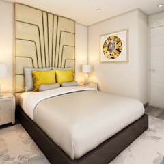 Proyecto JJ Dormitorios de estilo moderno de Luis Escobar Interiorismo Moderno
