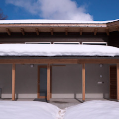根據 水野建築研究所 隨意取材風 木頭 Wood effect