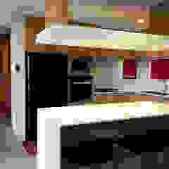 KV Residence Modern style kitchen by MZH Design Modern