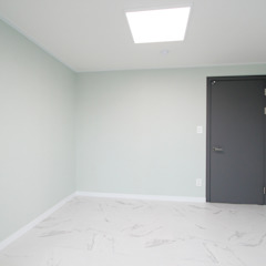 Modern media room by 한 인테리어 디자인 Modern