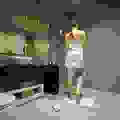 Factor4D - Arquitetura, Engenharia & Construção Modern Bathroom