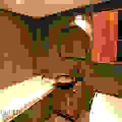 암사동 한강포스파크 아파트 러스틱스타일 욕실 by Design Daroom 디자인다룸 러스틱 (Rustic)