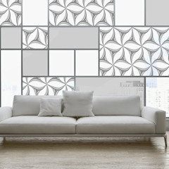 por Shiny Glass Tiles Eclético