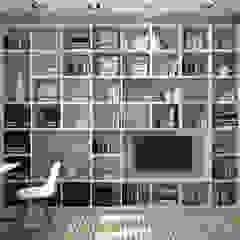Tatiana Sukhova Modern Study Room and Home Office