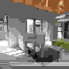 Ruang Keluarga Modern Oleh Property Commerce Architects Modern