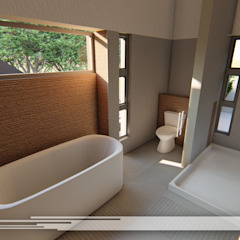 Kamar Mandi Modern Oleh Property Commerce Architects Modern