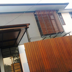 Cipaku House Dinding & Lantai Modern Oleh Kahuripan Architect Modern Batu Bata