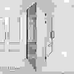 광장동 현대홈타운 53평형 모던스타일 복도, 현관 & 계단 by Design Daroom 디자인다룸 모던