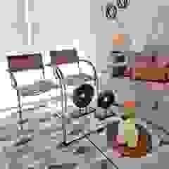 Oscar Saavedra Diseño y Decoración Spa Living room Aluminium/Zinc Brown
