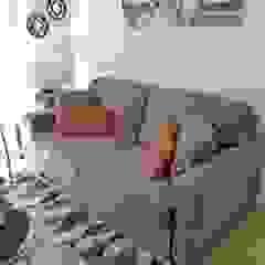 Oscar Saavedra Diseño y Decoración Spa Living room Engineered Wood Grey