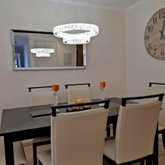 Oscar Saavedra Diseño y Decoración Spa Modern dining room Engineered Wood Wood effect