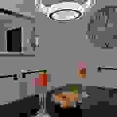 Oscar Saavedra Diseño y Decoración Spa Modern dining room Glass Transparent