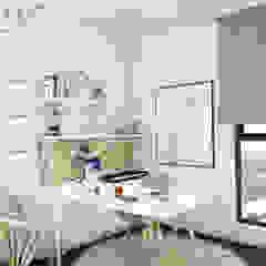 Scandinavian Design . Condominium Scandinavian style study/office by inDfinity Design (M) SDN BHD Scandinavian