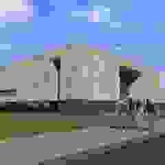 Escola de Ensino Profissional - Arrifes Escolas modernas por PE. Projectos de Engenharia, LDa Moderno