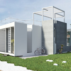Casa de Playa - Mejía de Inception Architects Moderno Concreto