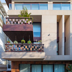 The Umber House: modern  by mold design studio,Modern