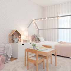 Quarto da Maria por This Little Room Escandinavo