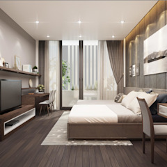 Space Restoration BEDROOM bởi ACL Architects