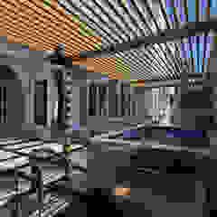 Classic Saudi Arabian Villa Exterior Design من Comelite Architecture, Structure and Interior Design إنتقائي حجر