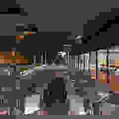 Restaurante Puerto de Artem arquitectura Moderno