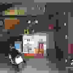Loft E&B Garagens e edículas rústicas por Moinho de Ideias Arquitetura Rústico Madeira maciça Multi colorido