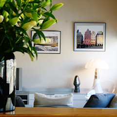 Anne Lapointe Chila 客廳沙發與扶手椅