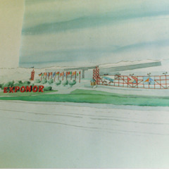 EXPONOR Centros de exposições industriais por Francisco Marques, Arquitecto Industrial
