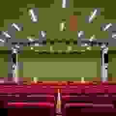 KRION también en el interior de Crédit Agricole Poitou-Charentes (Lagord, Francia) Salones de eventos de estilo moderno de KRION® Porcelanosa Solid Surface Moderno