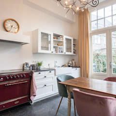 Uitbreiding woning en verbouwing badkamer/wellness, Nijmegen Mediterrane keukens van Bob Romijnders Architectuur & Interieur Mediterraan