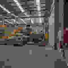 Manitowoc Crane Group - Pavilhão Industrial Espaços comerciais industriais por Esquissos 3G Industrial