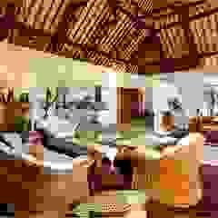 Villa Saya Ruang Keluarga Gaya Asia Oleh HG Architect Asia